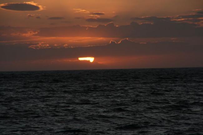 Еще один закат в Эгейском море