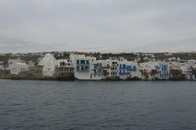 Маленькая Венеция на острове Миконос