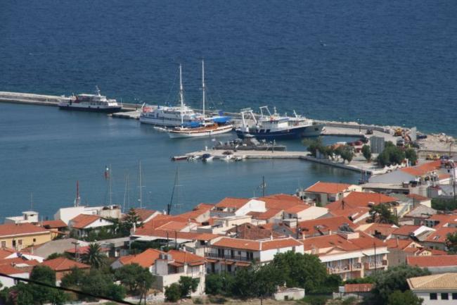 Марина острова Самос