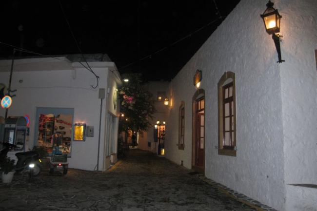 Прогулка по ночному острову