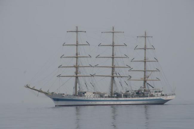 Корабль в Эгейском море