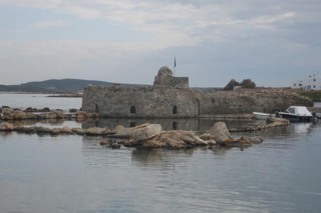 Руины древнегреческой крепости