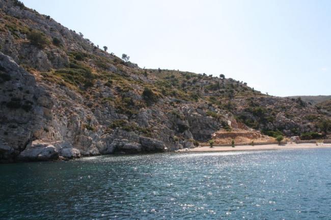 У берегов острова Фурни