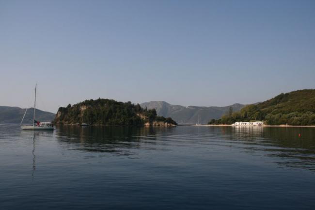 У берегов прекрасного острова Скорпиос