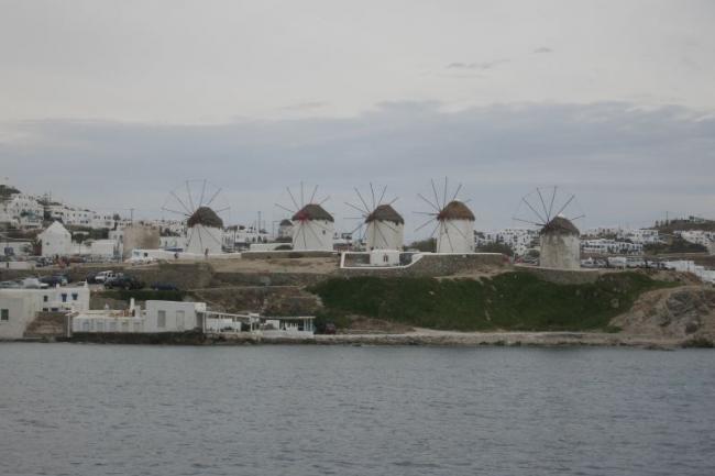 Знаменитые ветряные мельницы Миконоса