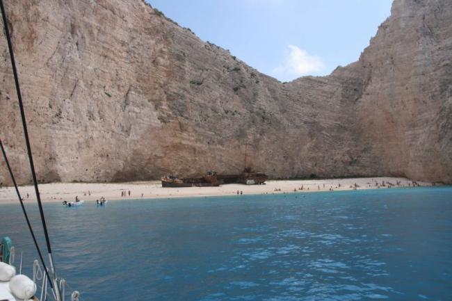 Знаменитый Шипрек (Shipwreck) в Ионическом море
