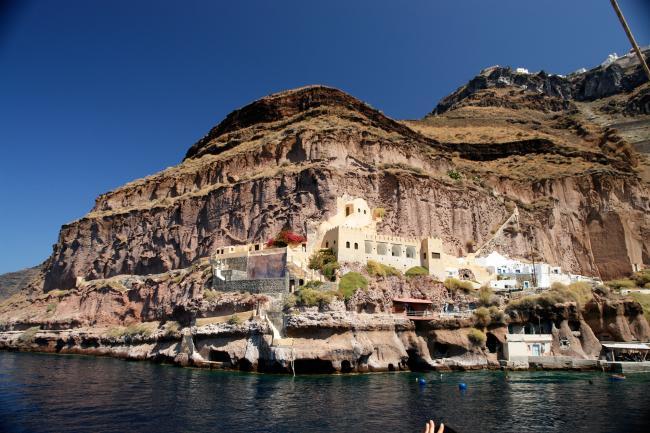 Nära Santorini