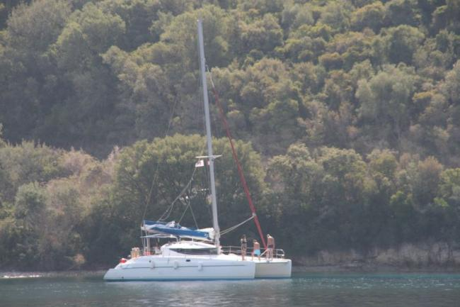 Another catamaran