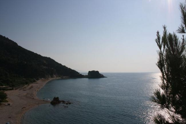 Beaches of Samos island