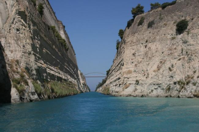 The Corinth channel