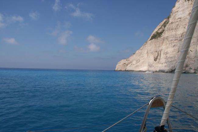 The bluest sea - The Ionian Sea!