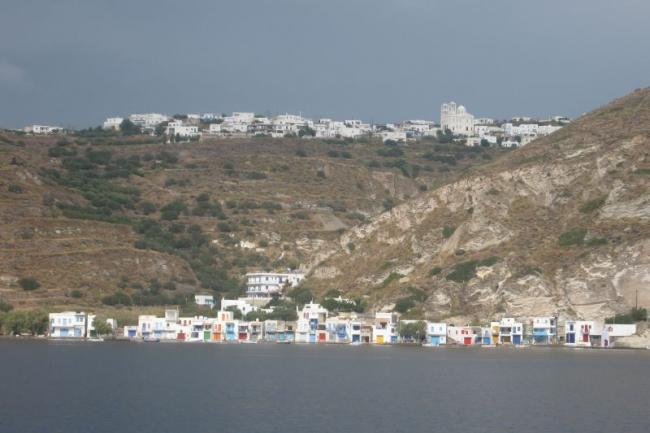 Travelling across the Cyclades