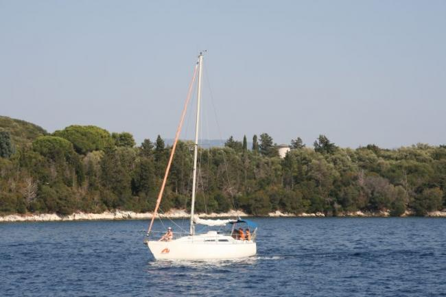 Yachting in the Ionian Sea